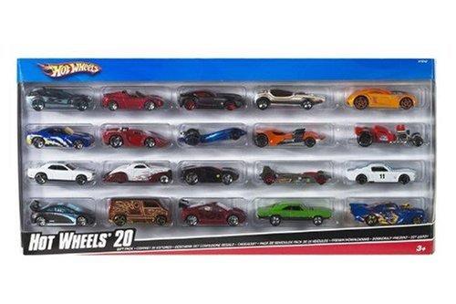 Hot Wheels 20 paquete de regalo de coches - Los estilos pueden variar