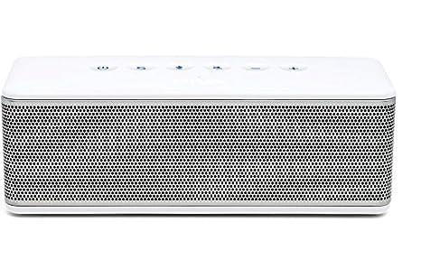 Riva S Enceinte portable Bluetooth Blanc/Argent