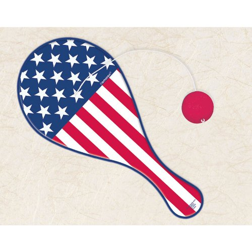 PADDLE BALL PATRIOTIC PLASTIC (1 per package)