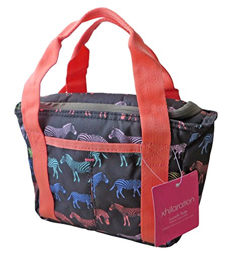 Xhilaration Thermal Insulated Lunch Tote (Zebra Pattern) - 1