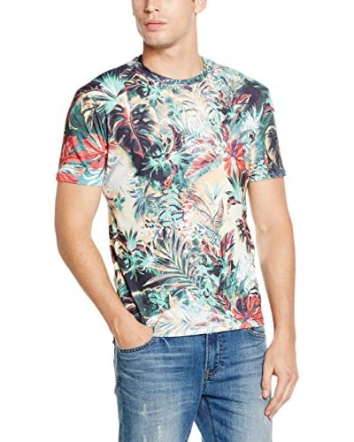 Mr. Gugu & Miss Go Camiseta Manga Corta Unisex Tropical Jungle