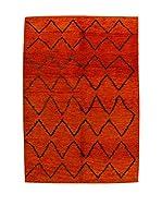Design Community By Loomier Alfombra Ma Maroc Barber (Rojo)