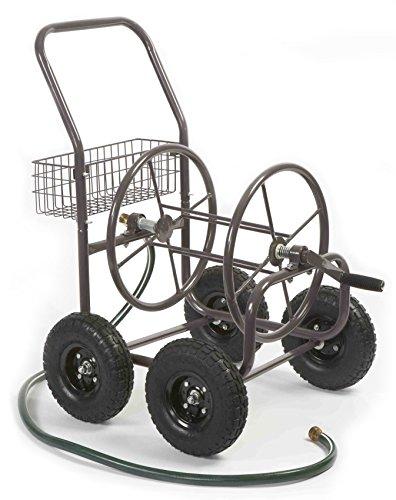 Liberty Garden Products 871-1 Residential Grade 4-Wheel Garden Hose Reel Cart with 250-Foot-Hose Capacity (Garden Hose Trolley compare prices)