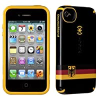 Speck CandyShell Rubberized Hard Case for iPhone 4 & 4S - Germany Flag
