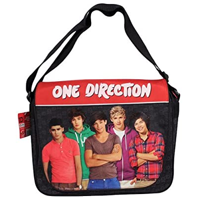 One Direction 1d Harry School Shoulder Travel Despatch Messenger Bag - Official from Sambro