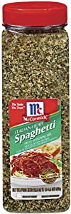 Mccormick Italian Spaghetti Sauce 205-ounce Pack Of 3 from McCormick & Co