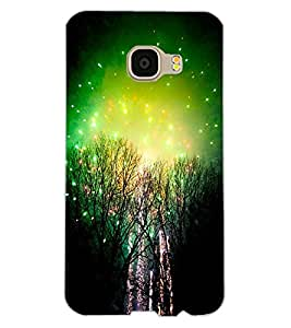 ColourCraft Amazing Night View Design Back Case Cover for SAMSUNG GALAXY C5