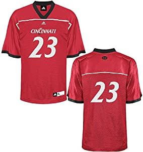 Adidas Cincinnati Bearcats #23 Adult Replica Football Jersey by adidas
