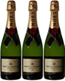 Moet & Chandon Imperial Non Vintage Champagne 75 cl (Case of 3)
