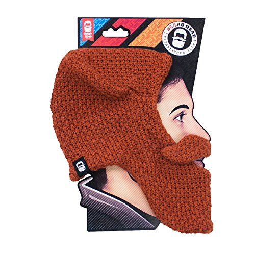 Beard Head Original Beard Head Beanie, Ginger, One Size