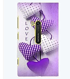 PRINTSWAG LOVE PILLOWS Designer Back Cover Case for NOKIA LUMIA 920
