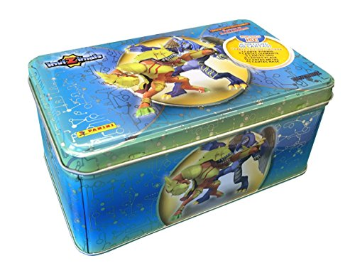 Invizimals - Caja metálica Tin box Silver , multicolor (Panini 002989TINESB)