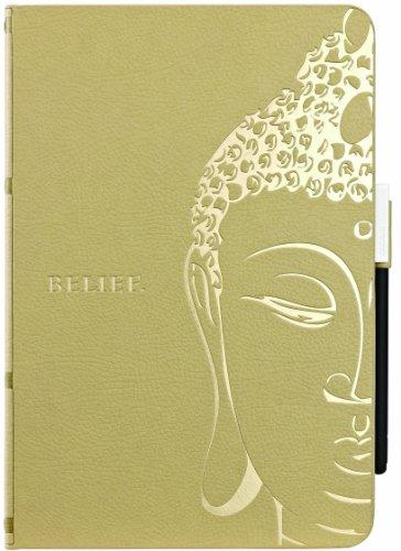 OZAKI O!coat Wisdom Buddhist Scripture for iPad mini Khaki
