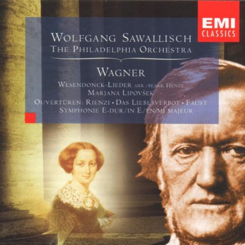 Wagner: Overtures, Wesendonck Lieder and Syphony in E major (Wagner Sawallisch compare prices)