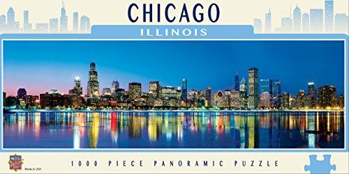 MasterPieces American Vistas Panoramic Chicago Puzzle (1000 Piece) (Chicago Puzzle 1000 compare prices)