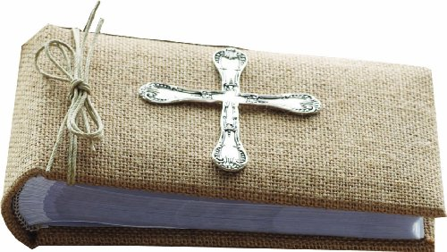 Mud Pie Classic Keepsakes Spoon Cross Photo Album, Single - 1