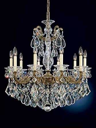Schonbek Worldwide 5074-44A 10 Light Scala Chandelier