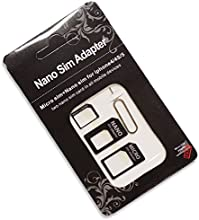 OnlineBestDigital - 4 in 1 Sim Adaptor Kit Nano to Micro/standard SIM Card Adapter for Apple Iphone 5 4s 4g + Sim Tray Opener