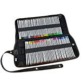 Ipow® 72 Farben Buntstifte Set Marco Raffine Farbstifte mit Leinwand