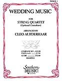 Wedding Music: String Quartet Violin 1 Part