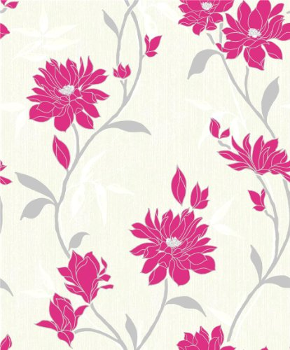 eleganzaquality-wallpapersmooth-vinyl-finish-floral-pink-free-paste-inc