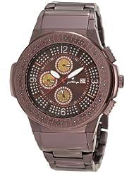 JBW-Just Bling Men's JB-6101-H Saxon Multifunction Diamond Watch