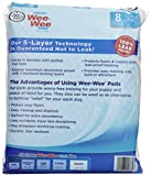 Four Paws Wee-Wee Gigantic Dog Housebreaking Pads, 8 Pack