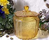 AMBER MAYFAIR COOKIE JAR