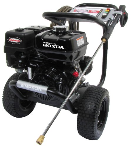 SIMPSON Cleaning PS3835 3800 PSI at 3.5 GPM Gas Pressure Washer Powered by HONDA with AAA Triplex Pump (Electric Powered Pressure Washers compare prices)
