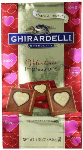 Ghirardelli Limited Edition Valentine's Impressions