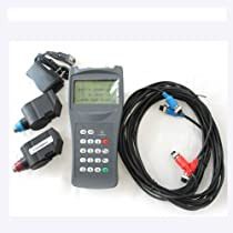 TDS-100H-S1+M2 Transit-Time Handheld Digital Ultrasonic Flow Meter for DN15-700mm Pipe Size with Factory Issued Calibration Certificate