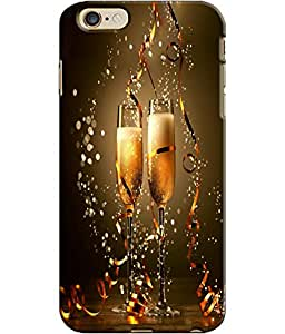 EU4IA Cheers Pattern MATTE FINISH 3D Back Cover Case For iPhone 6s - D120