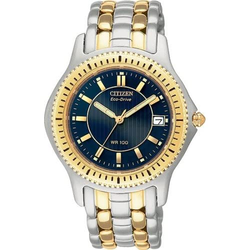Amazon.com: Citizen Men's BM6254-51L Riega Two-Tone Bracelet Watch