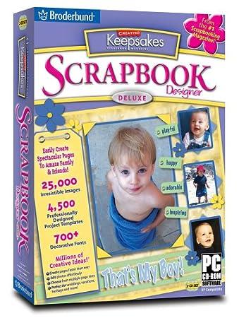 Creating Keepsakes Scrapbook Designer Deluxe 2.0