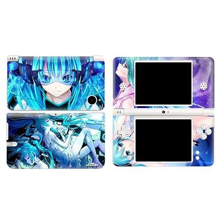 Miku Vocaloid Miku Hatsune Design Vinyl Skins for Nintendo Dual Screen Lite (Ndsl/nds) Sticker