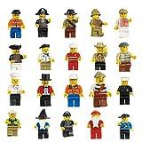 VDproTM Lot of 20 New Minifigures Men...