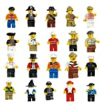 VDproTM Lot of 20 New Minifigures Men...