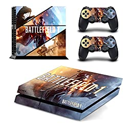 AL Pacino Battlefield 1 theme cover sticker for playstation 4
