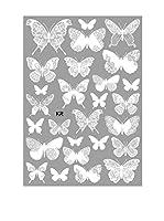 Ambiance Live Vinilo Decorativo 26 Piezas Chic Butterfliess