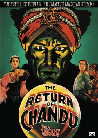 Cover art for  The Return of Chandu