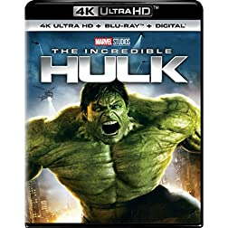 The Incredible Hulk [4K Ultra HD + Blu-ray]