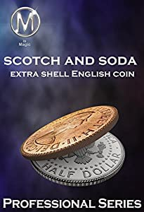 M is Magic Magic Trick Scotch 'n Soda Extra Shell English Coin