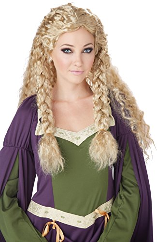California Costumes Women's Viking Princess Wig Ren Faire
