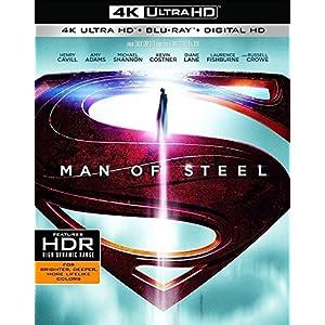 Man of Steel [4K Ultra HD + Blu-ray + Copie Digitale UltraViolet]