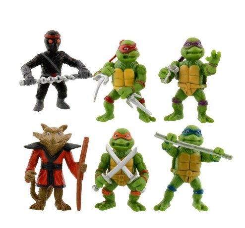 6Pcs/lot Teenage Mutant Ninja Turtles Action Figures Toy Chlid Kids Toys Collection