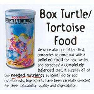 Zoo Med Natural Box Turtle Food 20 oz