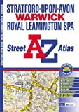 A-Z Stratford-upon-Avon, Warwick and Royal Lemmington Spa Street Atlas (Street Maps & Atlases)