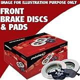 RENAULT CLIO MK3 1.6 16V GT 09-11 MINTEX FRONT BRAKE DISCS PADS MDB2595 MDC1607