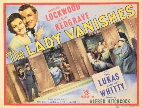 The Lady Vanishes Amazon Movie Poster