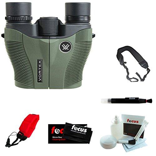 Vortex Optics Vanquish 10x26 Reverse Porro Prism Binocular + Focus Foam Float...